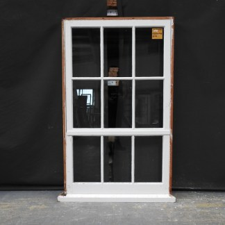 Colonial Style Wooden Awning Window With Bottom Light