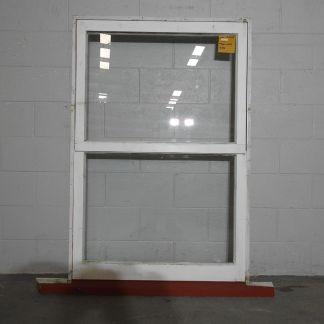wooden awning portrait window