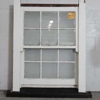 colonial wooden double-hung window - spring type