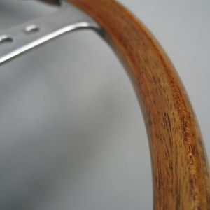 Original Jaguar E type wood-rim Steering wheel