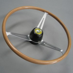 Lotus Cortina steering wheel