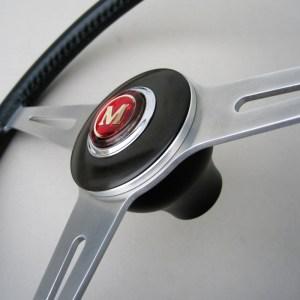 NOS Austin Morris Mini Cooper S - Mk1 Horn push 27H6944 - Austin Morris Mark 1 Mini Steering wheel