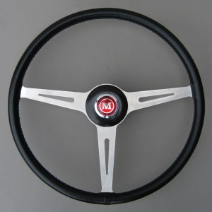 BMC Works Mini Cooper MK1 Springall Steering Wheel - Mini Mk1 Steering Wheel
