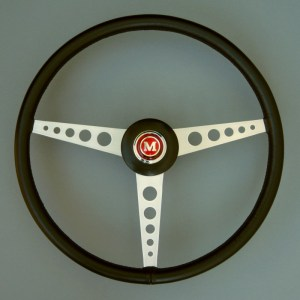 Mk1 Mini Cooper S Works Race & Rally Steering wheel