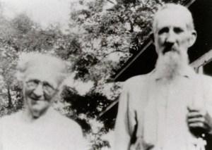 George Washington Hunter and Laura Jane Nase Dial Hunter