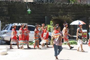 caifesta XI - suriname indigenous people at fort zeelandia (2)