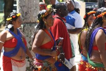 caifesta XI - suriname indigenous people at fort zeelandia (4)