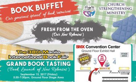 Experience CSM's Book Buffet at the 38th Manila International Book Fair