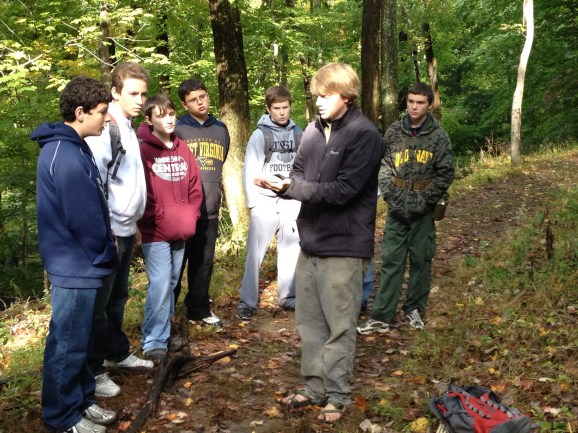 Learning the trees of the eastern deciduous forests, Wheeling WV