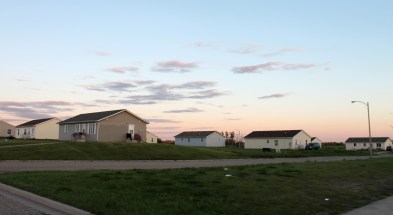 Housing projects, Turtle Mountain, North Dakota