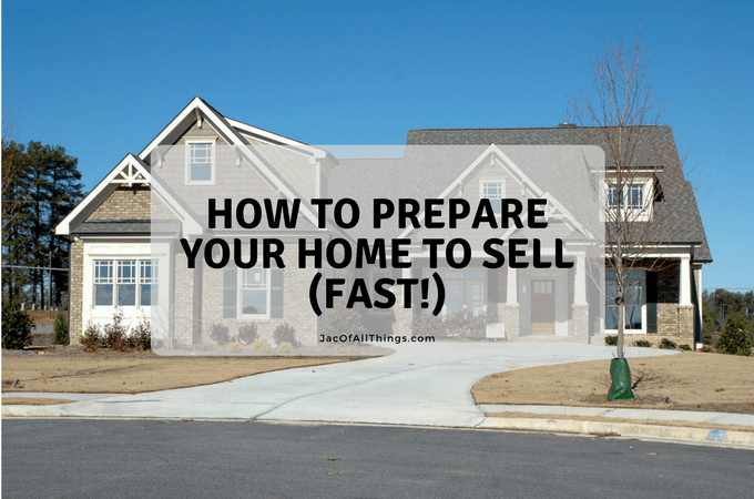 Get Your House Ready to Sell (Free Printable Checklist)