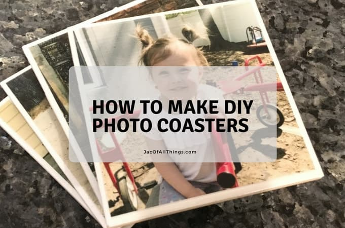 How To Make Easy DIY Photo Coasters From Tiles