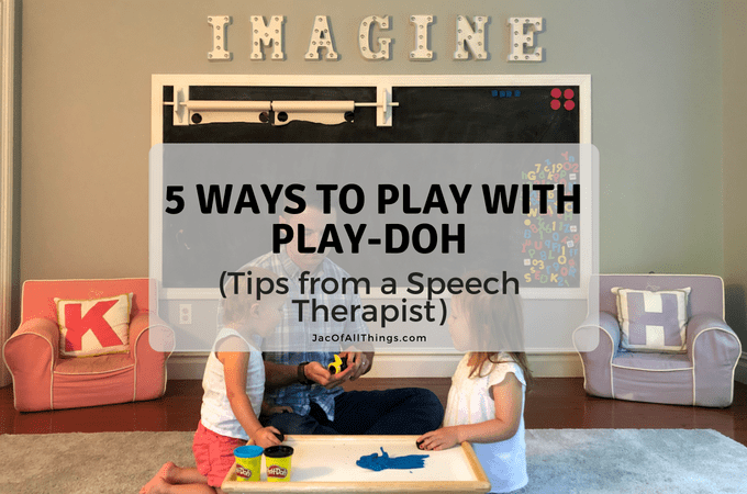 5 Ways to Play with Play-Doh (Tips from a Speech Therapist)