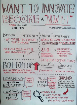 "Want to innovate? Become a ""now-ist"""