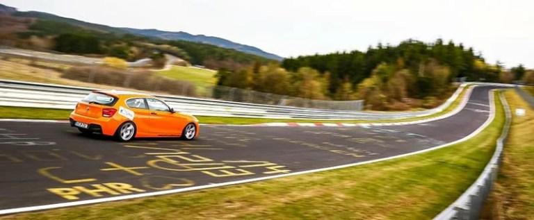 BMW 1-Series an einem öffentlichen Tag
