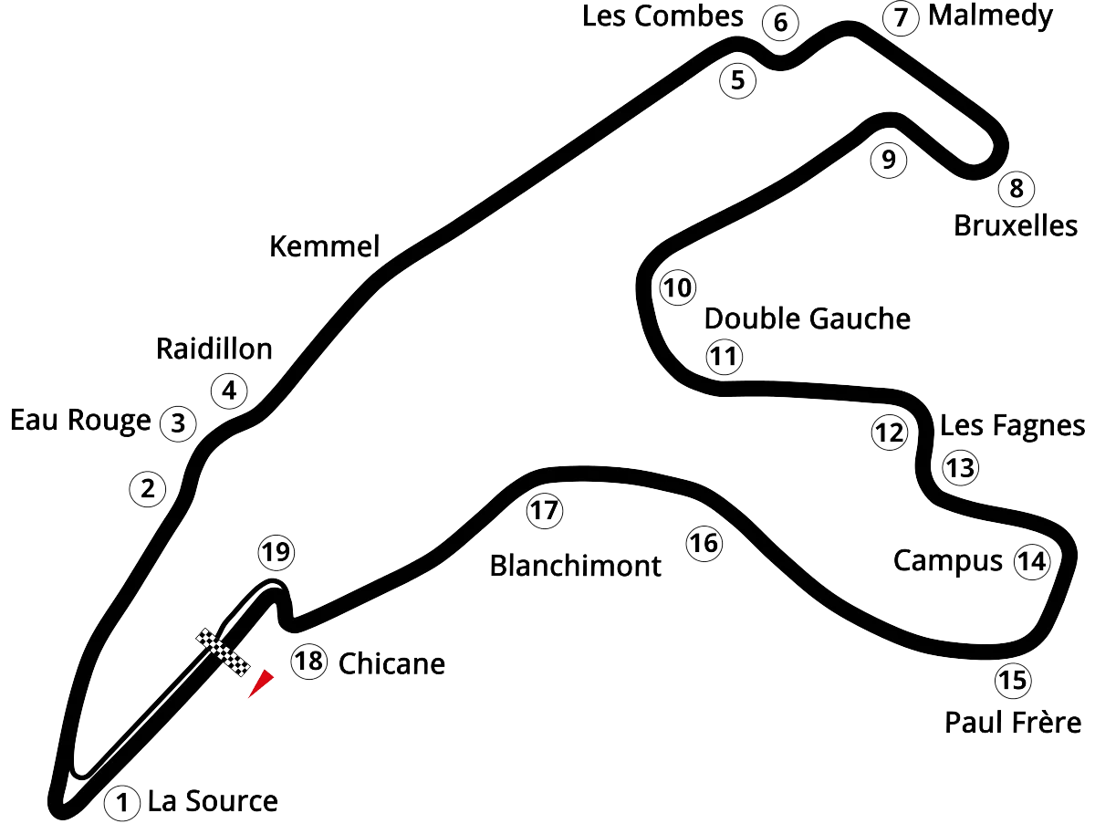 Spa Map