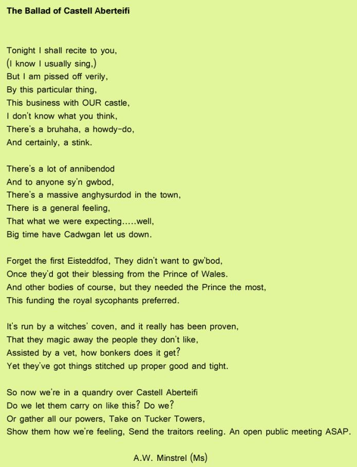 Ballad Aberteifi
