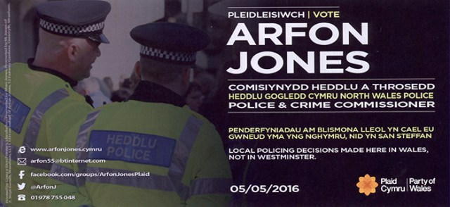 Arfon leaflet