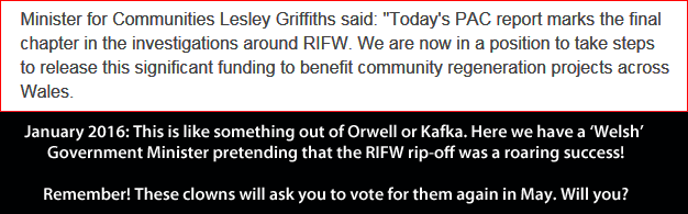 RIFW Lesley Griffith