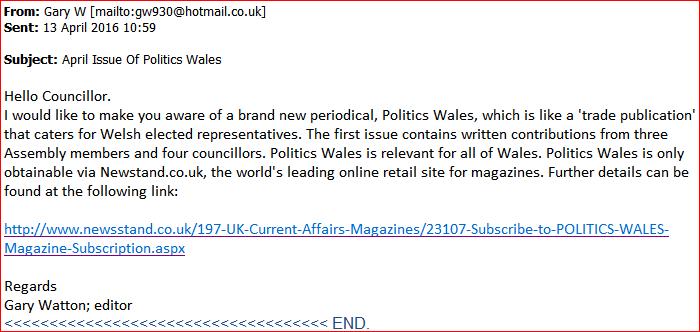Gary Watton e-mail
