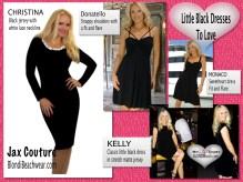 Little black dresses add