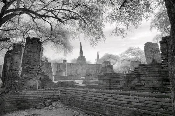 Ruins of Ancient Siam City of Ayuttaha