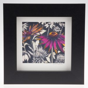 Pink Echinacea-Framed Prints - Small Square-Pensthorpe Natural Park