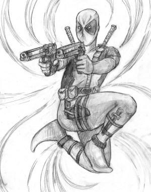 drawings cool superheroes superhero drawing super google marvel easy draw deadpool stage getdrawings competition