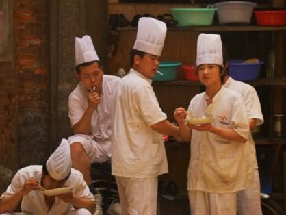Noodle Boys on break