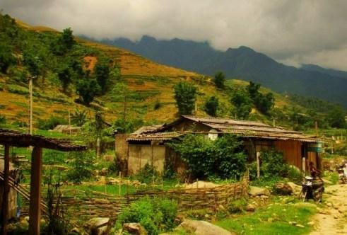 Trekking through Lao Chai and Ta Van Villages