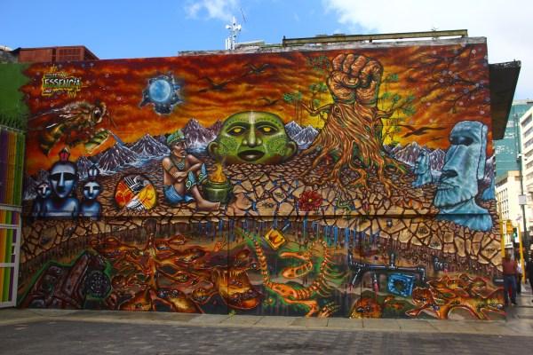 Caracas Street Art Beginning Tokidoki Nomad