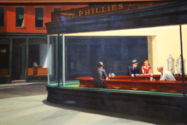 Chicago Nighthawks Edward Hopper 1942