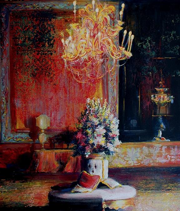 The Secret Room of Giuseppa Filangeri di S. Marco (Oils)