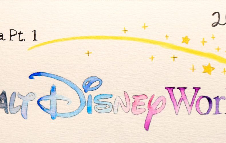 Walt-Disney-World-Watercolor