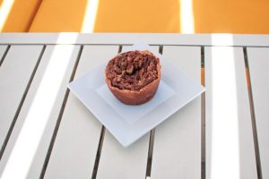 Mini Pecan Pie at Lunch