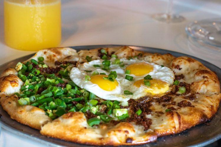 Farley Girls Breakfast Pizza