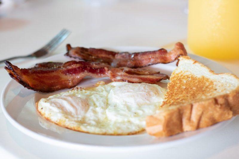 Farley Girls Breakfast Foods