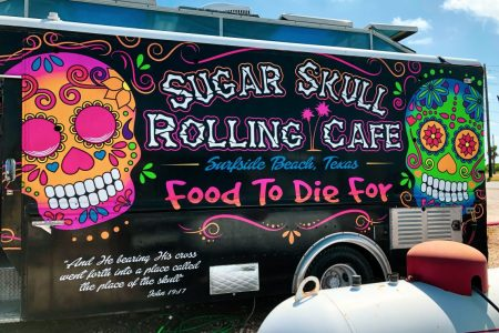 The Place to Eat in Surfside Beach: Sugar Skull Rolling Cafe
