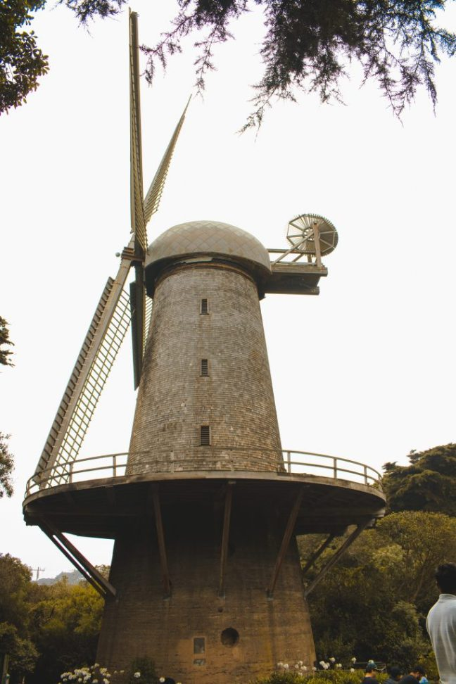 Dutch Windmill at Golden Gate Park
