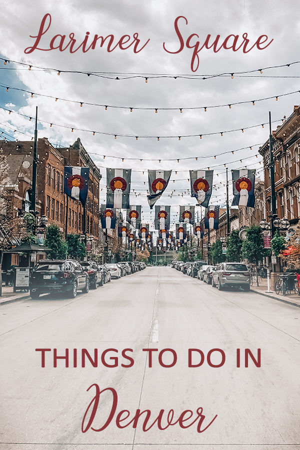 Things to do in Denver, Colorado: Larimer Square | Click here to see a collection of random things to do in Denver, Colorado! This list contains bars, restaurants, art and cityscapes!