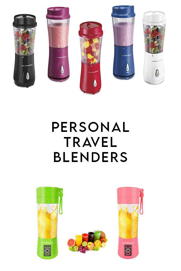 Portable Blender Options
