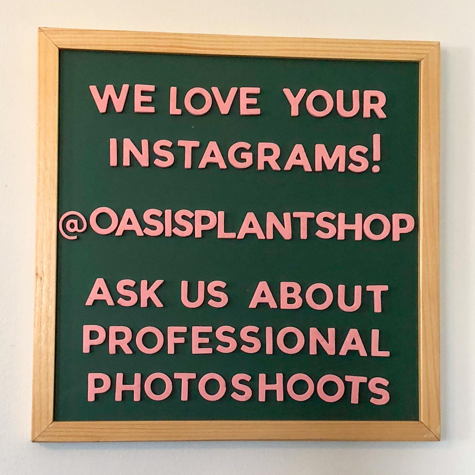 Oasis Plant Shop