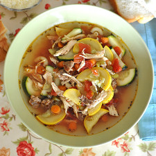 Italian Sausage and Chicken Soup Recipe Jacquelynne Steves