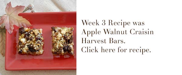 apple walnut craisin harvest bars cookie recipe