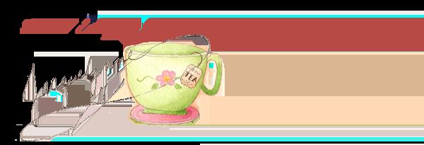 Tea Cup art Jacquelynne Steves