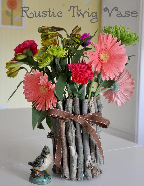 Rustic Twig Vase Jacquelynne Steves
