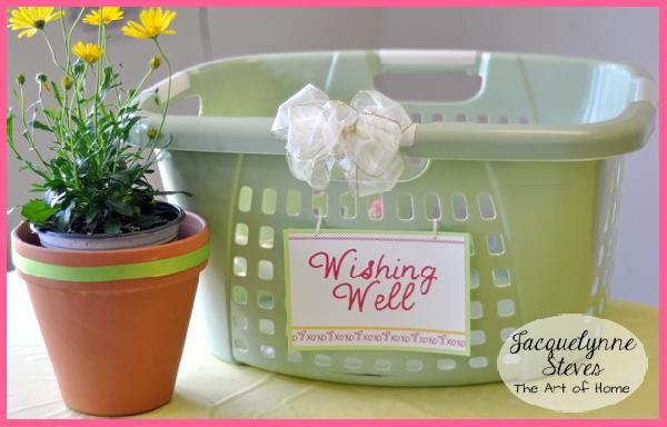 Bridal Shower Wishing Well- Jacquelynne Steves