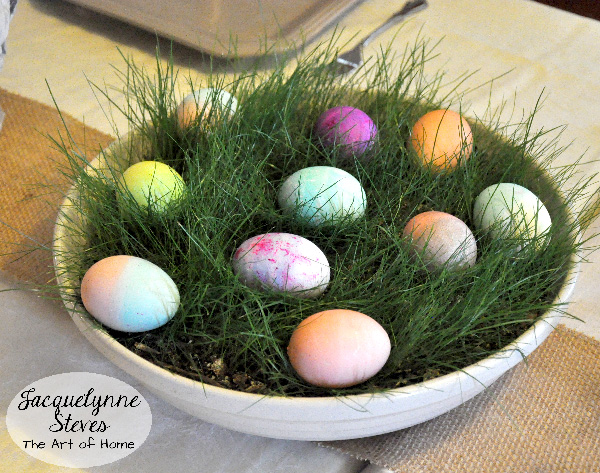 Easter Egg Centerpiece- Jacquelynne Steves