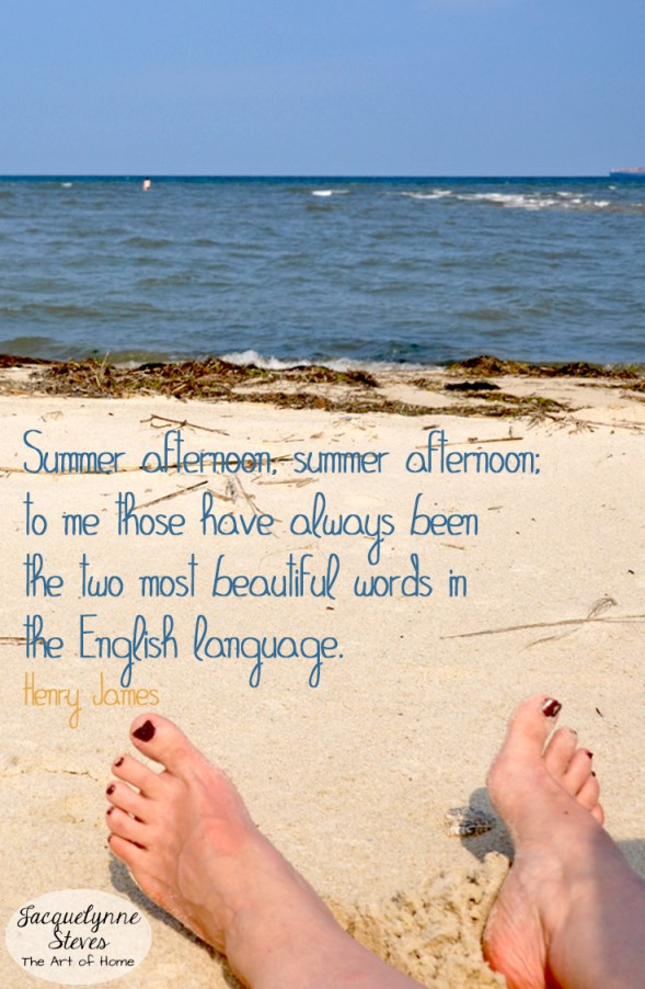 Quote-SummerAfternoon-beach Photo- Jacquelynne Steves