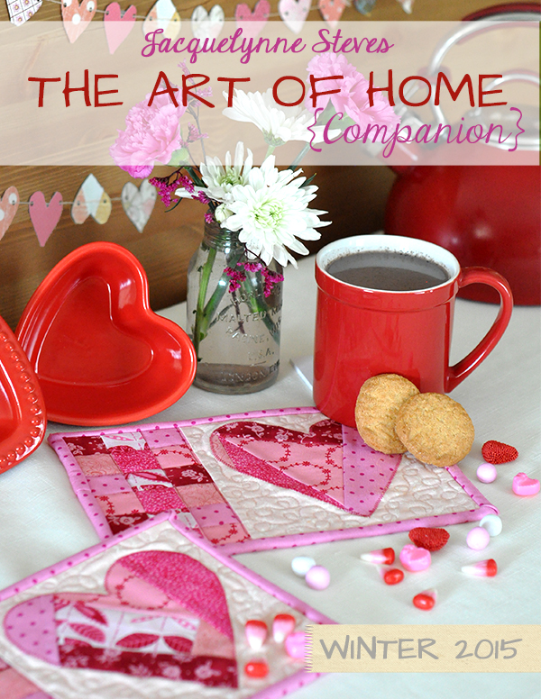 Cover-The Art of Home Companion Winter 2015- Jacquelynne Steves